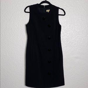 Michael Kors black button dress